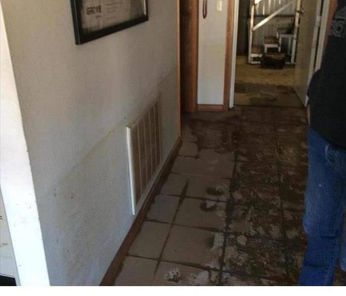 flooded commercial business in kirkwood mo servpro of west