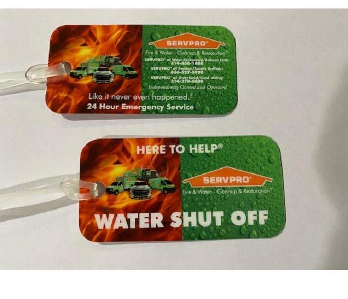 Shut Off Tags